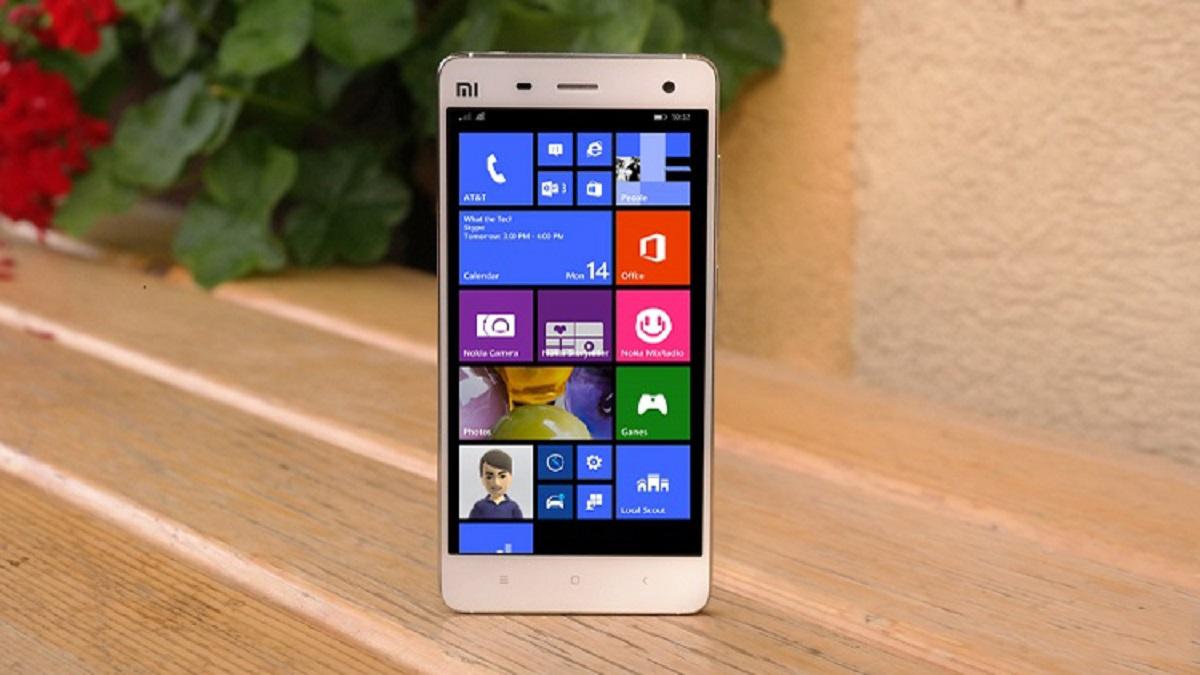 Xiaomi Mi4 s Windows 10 zachyceno na videu
