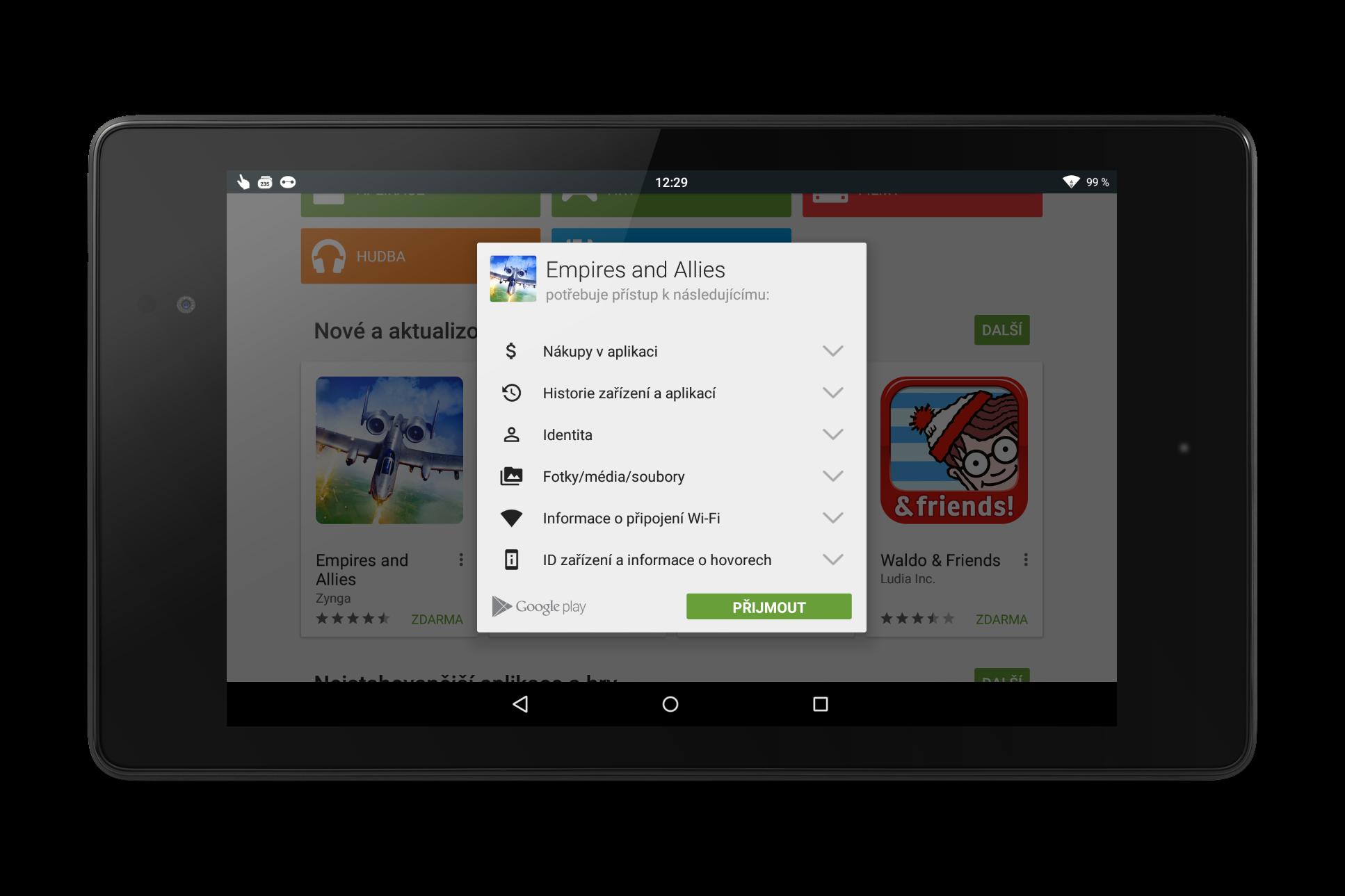 Google I/O 2015 – Volitelná oprávnění u aplikací [spekulace]