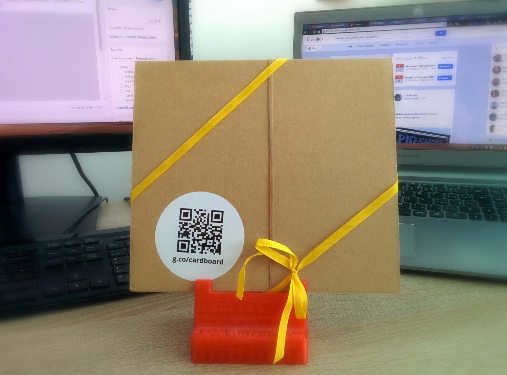Rychlá soutěž o Google Cardboard
