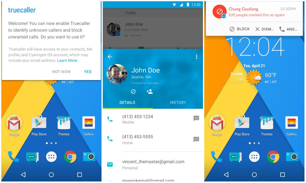Cyanogen a Truecaller – možná budoucí novinka v Cyanogen OS