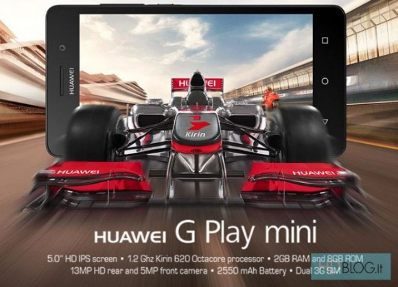 Huawei odhalil model G Play Mini