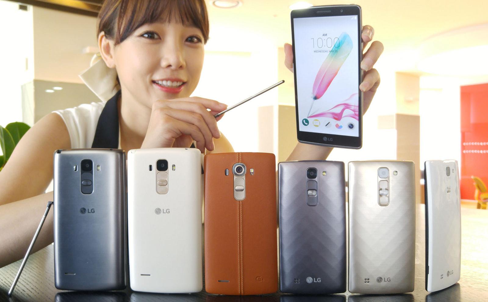 LG představilo G4 Stylus a G4c [aktualizováno]
