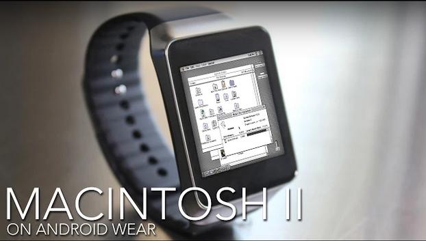Systém od Applu na hodinkách s Android Wear [zajímavost]