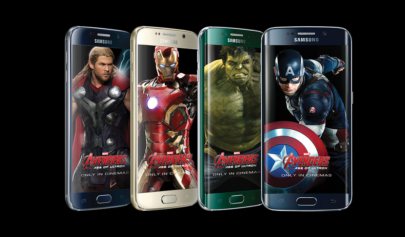 Avengers: Age of Ultron a Samsung