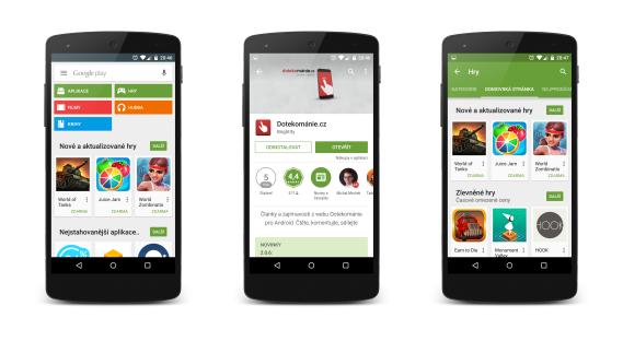Google asi představí A/B testování pro stránky aplikací na Google Play