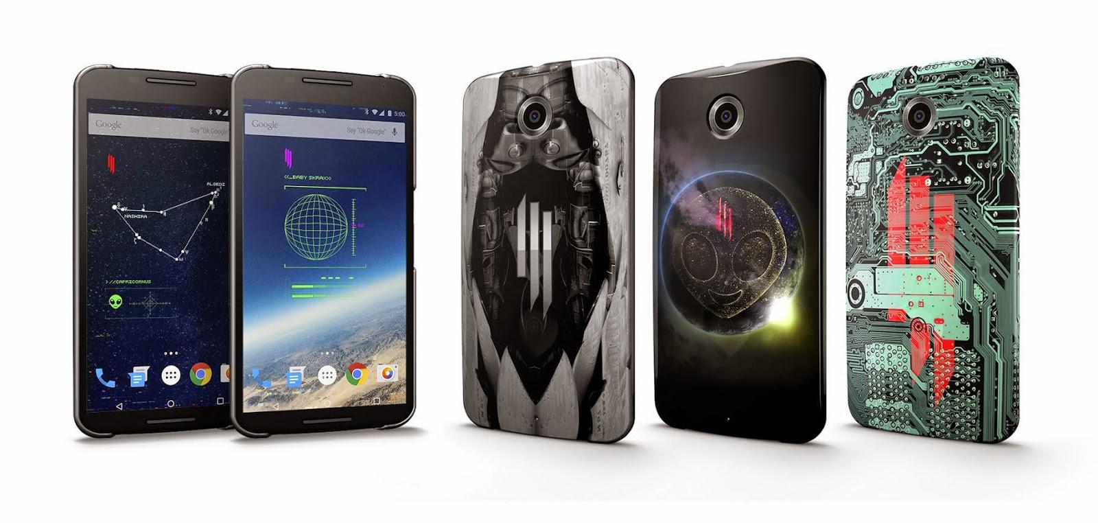 Skrillex Live Case pro Nexus 5, Nexus 6, Galaxy S5, Galaxy S6 a Galaxy Note 4