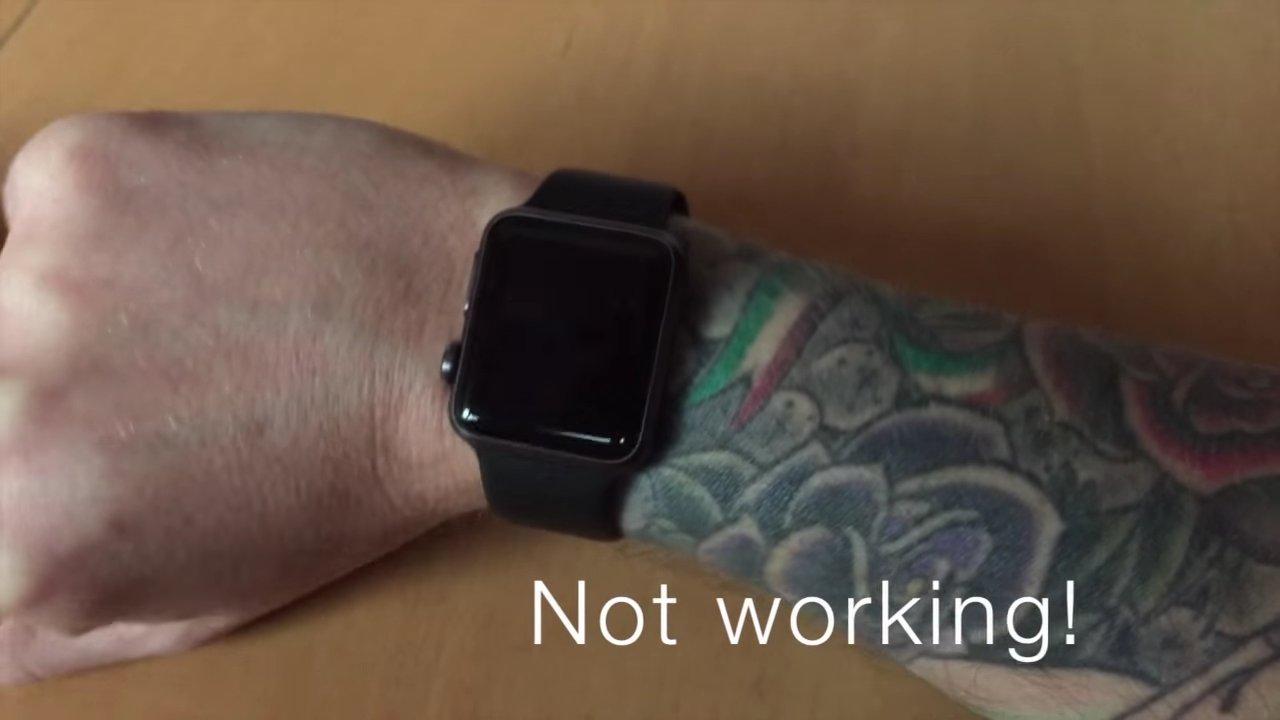 Apple potvrzuje, že tetování je problémem pro Apple Watch