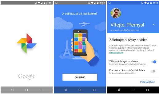Google Fotky jako samostatná služba a aplikace [aktualizováno, Google I/O 2015]