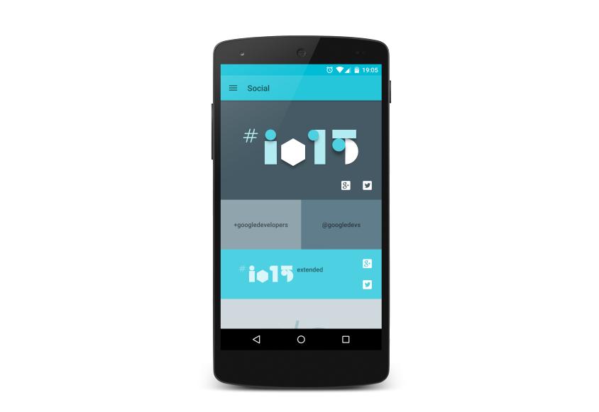 Nová aplikace Google I/O 2015