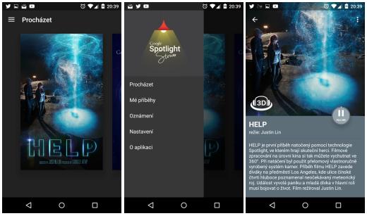 Google Spotlight Stories – nová aplikace nabízející zajímavé příběhy