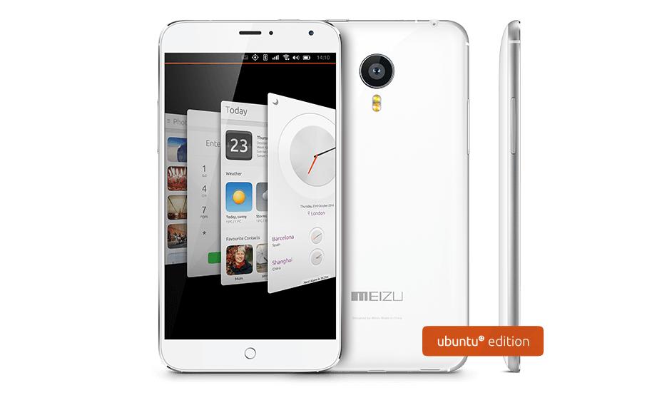 Meizu MX4 Ubuntu Edition oficiálně k dispozici