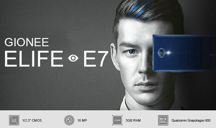 Gionee Elife E7 s 5,5 palcovým FullHD displejem, 3GB RAM a Snapdragonem 800 od 1949deal.com