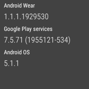 Android Wear Screenshot(3)