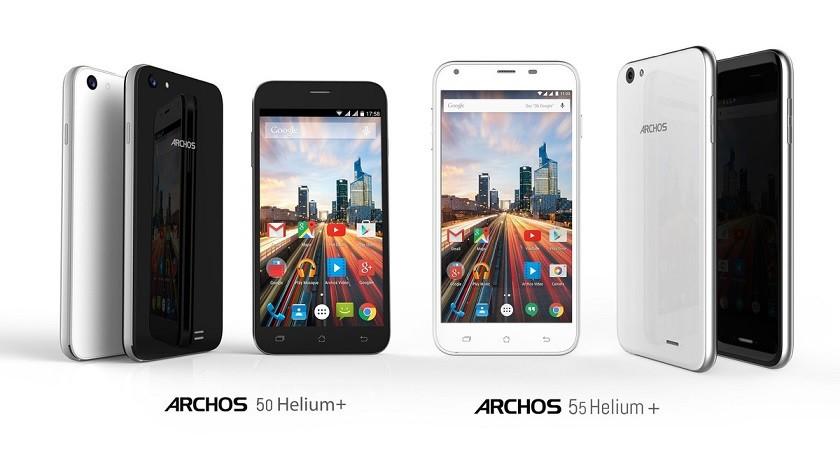 Archos uvedl 50 Helium Plus a 55 Helium Plus
