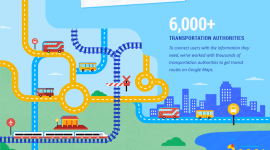 Google Mapy – nově s informacemi o veřejné dopravě v reálném čase