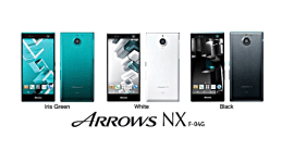 Fujitsu Arrows NX F-04G – odemykejte svojí duhovkou