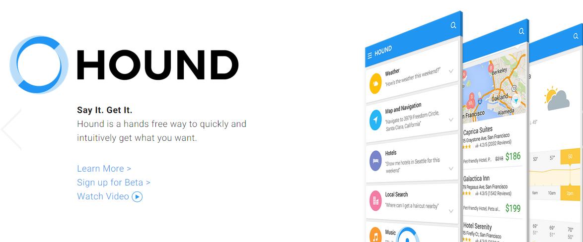 Hound – konkurence pro Siri, Google Now a Cortanu?