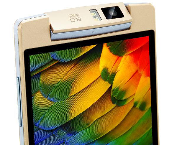 iBall Andi Avonte 5 je vybaven 8MPx rotačním fotoaparátem