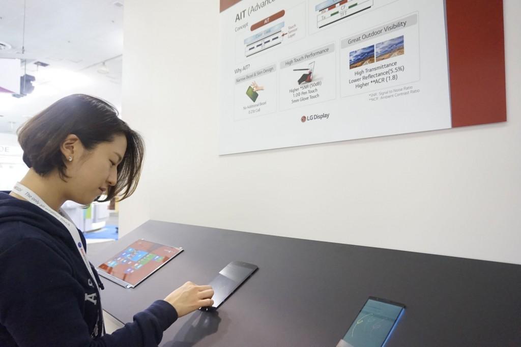 LG ukázalo svůj postup ve výrobě displejů na SID 2015