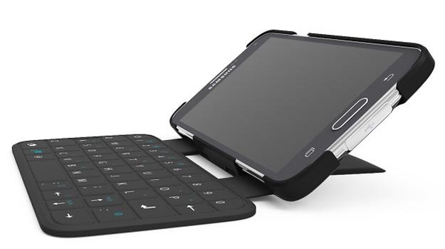 Klávesnice pro chytré telefony bez přímého nabíjení
