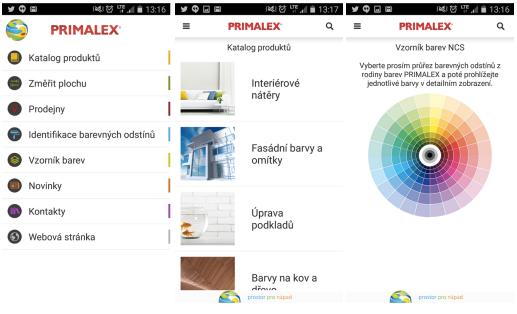 S aplikací od Primalexu budete mít vymalováno raz dva