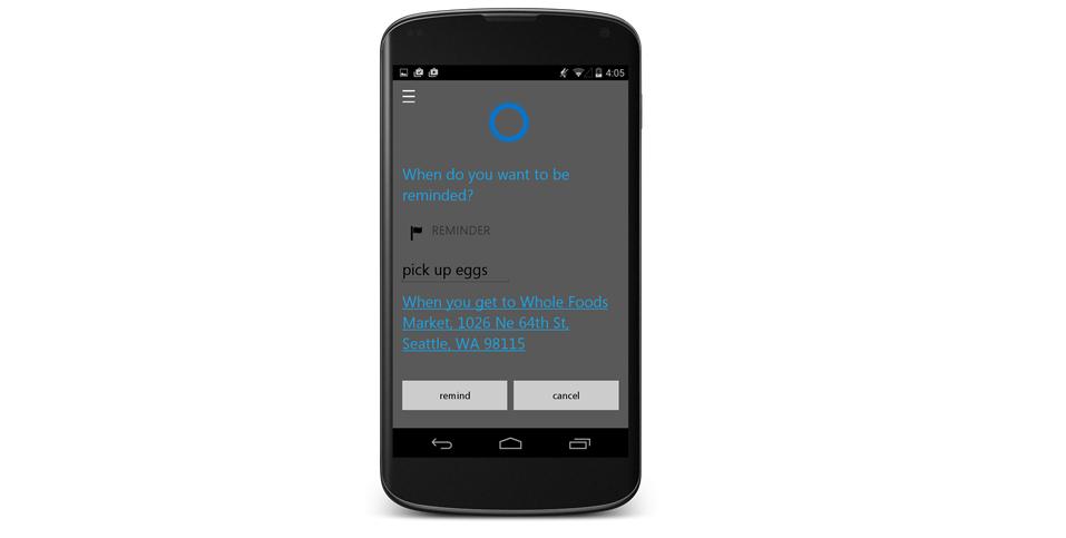 Cortana pro Android už v červenci, byť je zde menší háček