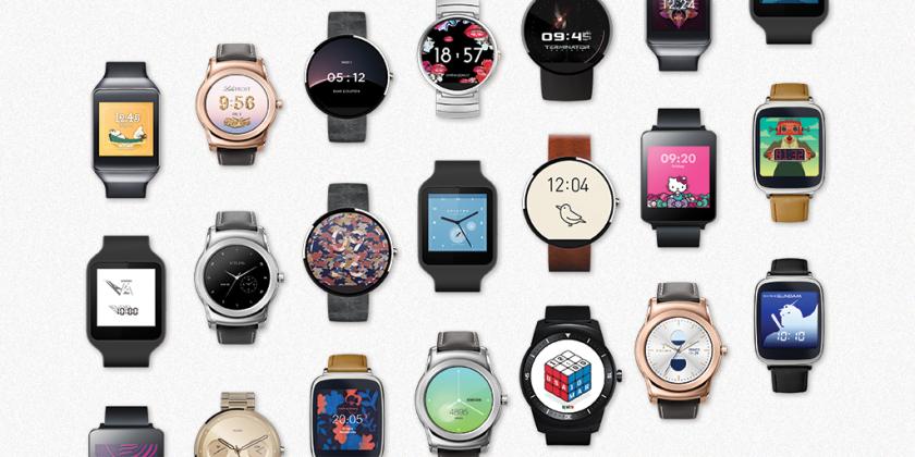 Google představil 17 nových témat ciferníků pro Android Wear