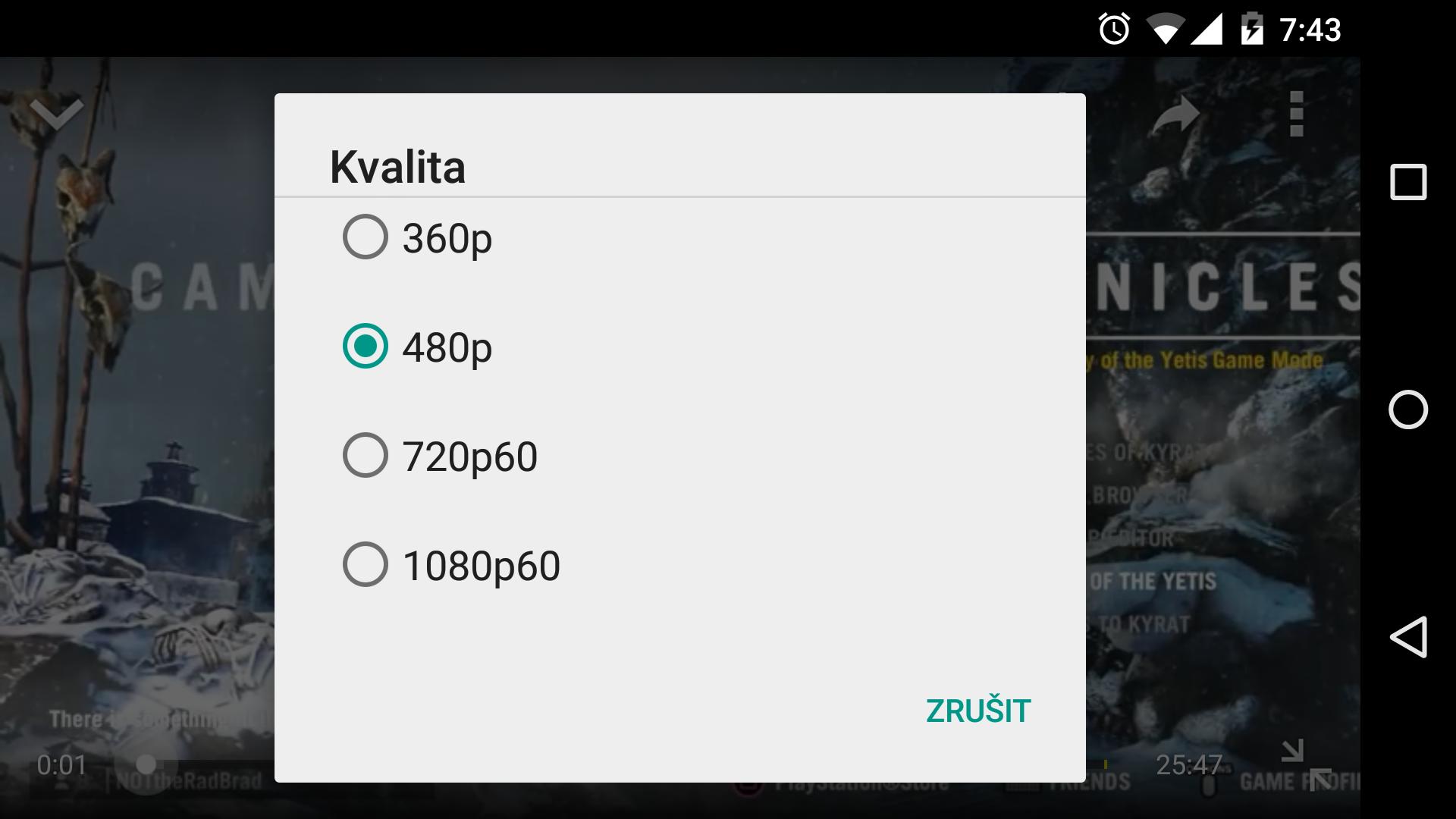 Youtube pro iOS a Android podporuje 60 FPS