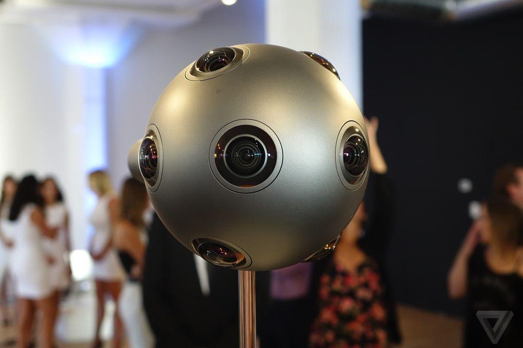 Nokia představila kameru OZO pro natáčení sférických videí