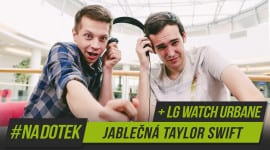 Na Dotek - Jablečná Taylor Swift + LG Watch Urbane