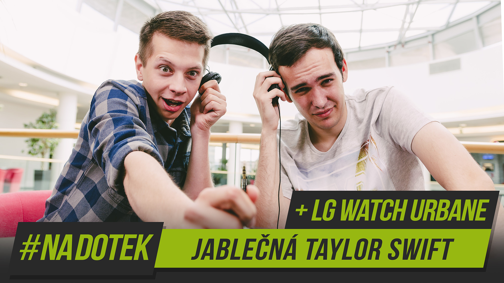 Na Dotek – Jablečná Taylor Swift + LG Watch Urbane