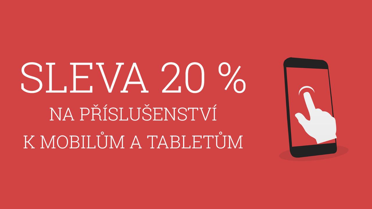 Pro čtenáře Dotekomanie.cz – 20% sleva na příslušenství k mobilům