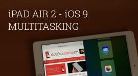 iPad Air 2 - Multitasking v iOS 9 beta [video]