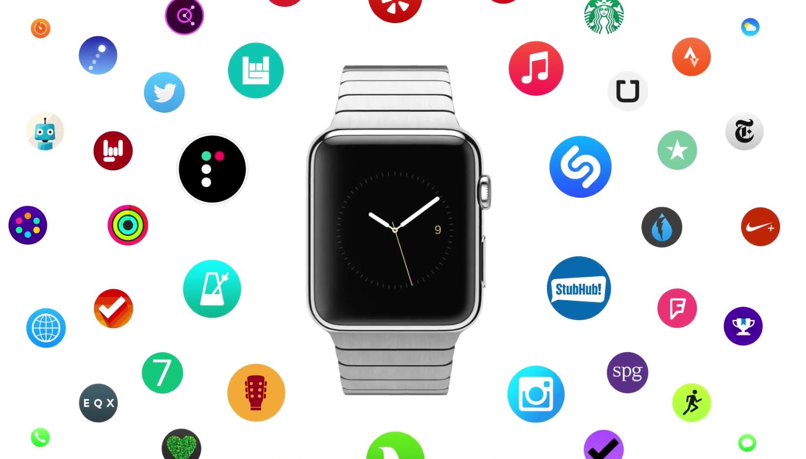 Apple vydal tři nové reklamy na Apple Watch