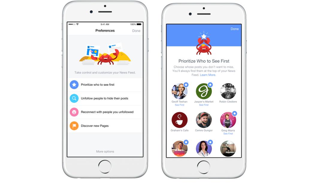 Facebook – lepší a větší kontrola nad zobrazovanými příspěvky