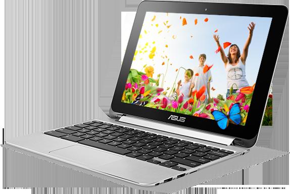 Konvertibilní Chromebook od Asusu