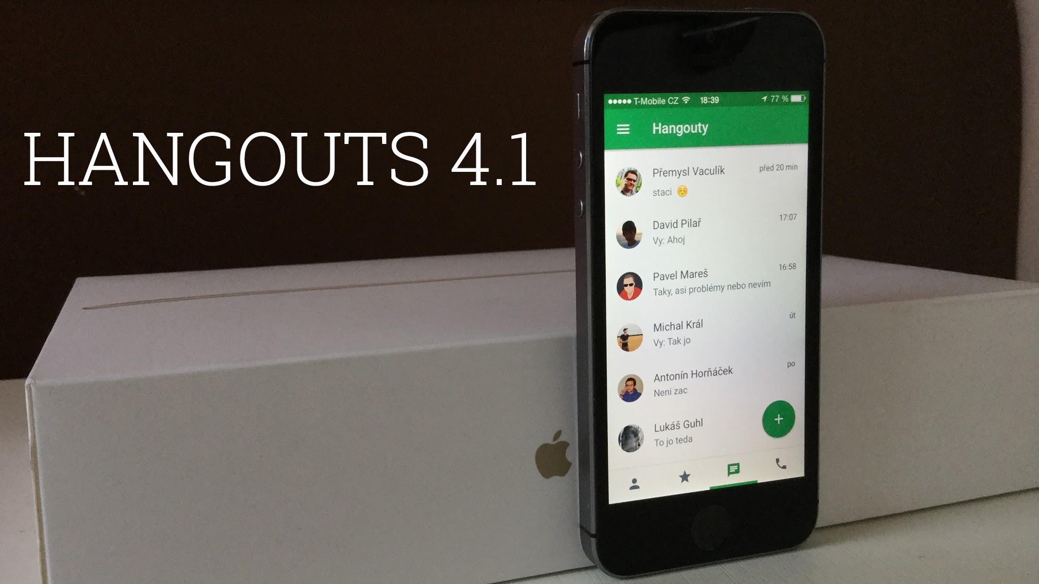 Hangouts 4.0 příjemná novinka pod kapotou [apk, aktualizováno]