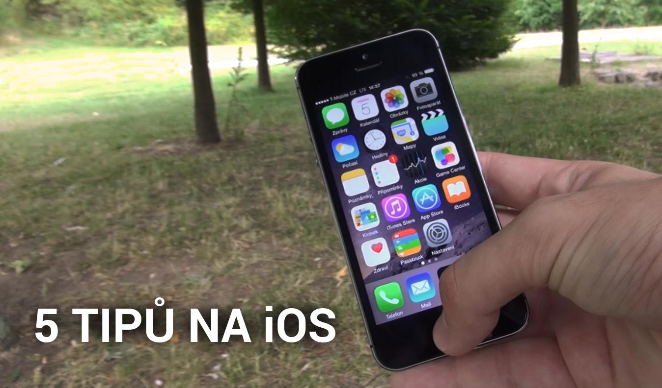 5 tipů na iOS – zjednodušte si práci [video]