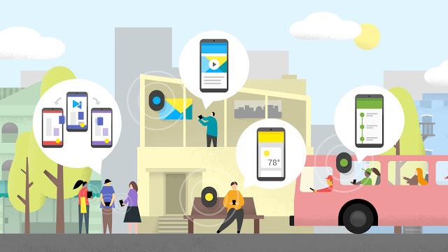 Google Eddystone – nový otevřený standard využívající Nearby