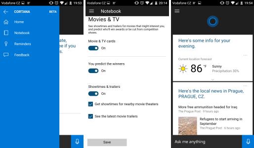 Cortana pro Android je v nedohlednu, ale aplikace je venku