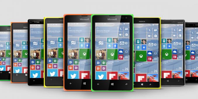 Víme, které Lumie dostanou Windows 10 Mobile jako první