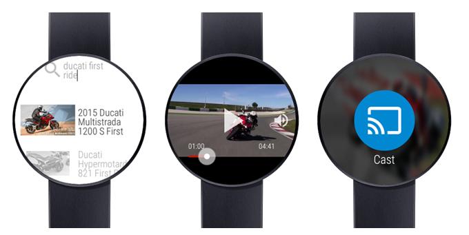 Youtube videa na Android Wear? Žádný problém