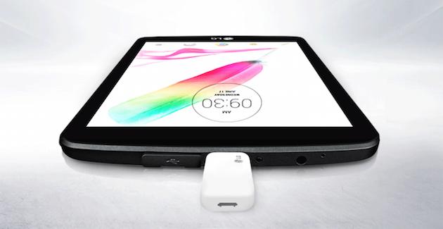 K novému G Padu II 8.0 od LG připojíte nejen flash disk