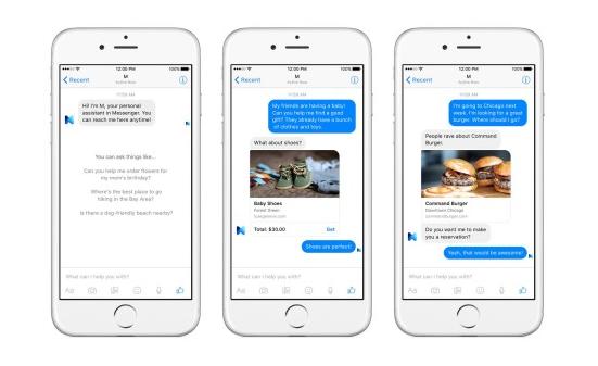 Facebook M jde do boje proti Google Now, Siri a Cortaně