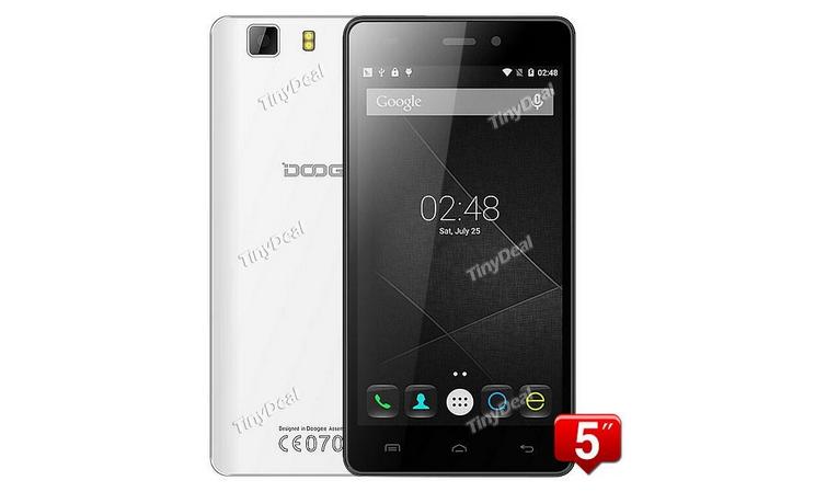 DOOGEE X5 u tinydeal.com za 59.99$ [sponzorovaný článek]
