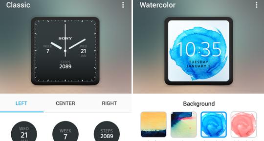 Stáhněte si oficiální aplikaci ke svým Sony Smartwatch 3