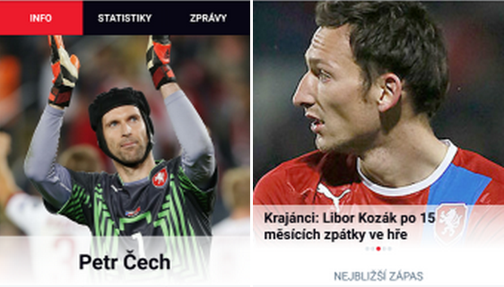 Česká Repre – oficiální aplikace české fotbalové reprezentace