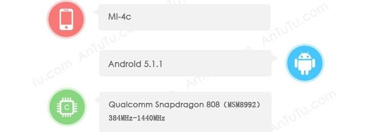 Xiaomi Mi 4c - Geekbench