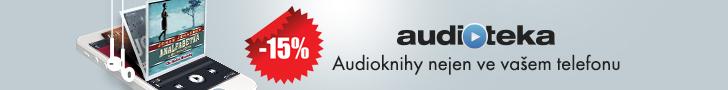 Sleva 15 % v audioteka.cz