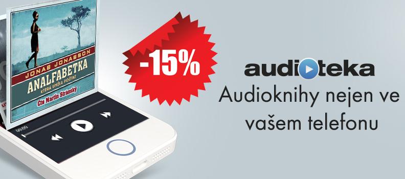 Pro čtenáře Dotekomanie.cz – 15% sleva na audioknihy v obchodě Audioteka.cz